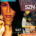 Patio Szn Saturdays inside Dream Resto Lounge 90's Mixtape Mayhem Party June 18