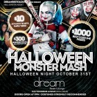 Halloween Night Monday October 31st MONSTER MASH Party $1000 in Prizes